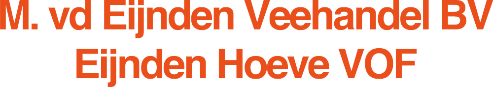 Logo M. van den Eijnden B.V.
